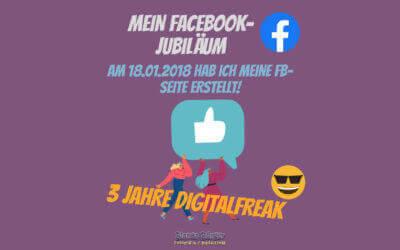 18. Januar 2021 – Mein Facebook-Jubiläum