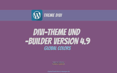 Divi-Theme und -Builder Version 4.9