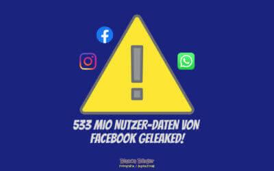 533 Millionen Telefonnummern von Facebook-Nutzern geleaked!